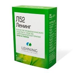 Гомеопатические капли для приема внутрь Л52 Ленинг