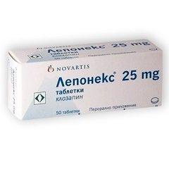 Таблетки Лепонекс
