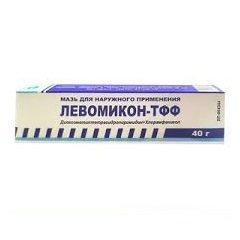 Мазь для наружного применения Левомикон-ТФФ