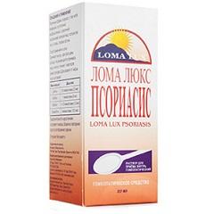 Раствор для приема внутрь гомеопатический Лома Люкс Псориасис