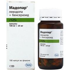 Капсулы Мадопар 125
