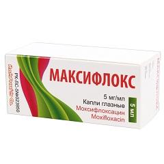Капли глазные Максифлокс