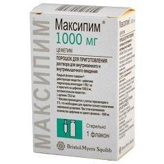 Порошок для приготовления раствора для внутривенного и внутримышечного введения Максипим