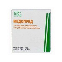 Раствор для внутривенного и внутримышечного введения Медопред