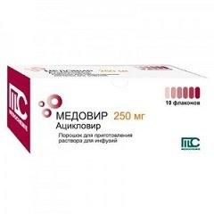 Порошок для приготовления раствора для инфузий Медовир