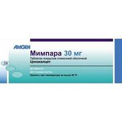 Таблетки, покрытые пленочной оболочкой, Мимпара