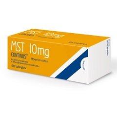 Таблетки пролонгированного действия, покрытые оболочкой, МСТ Континус