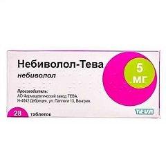 Таблетки Небиволол-Тева