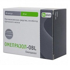 Капсулы Омепразол-OBL