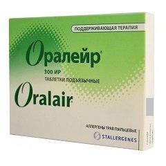 Таблетки подъязычные ОРАЛЕЙР