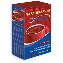 Порошок ля приготовления раствора для приема внутрь Парацетамол ЭКСТРА