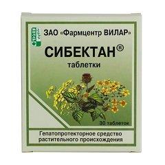Таблетки Сибектан