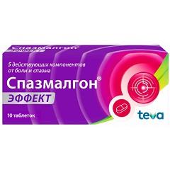 Таблетки, покрытые пленочной оболочкой, Спазмалгон Эффект