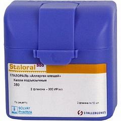 Капли подъязычные Сталораль «Аллерген клещей»