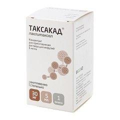 Концентрат для приготовления раствора для инфузий Таксакад