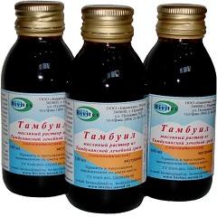 Масляный раствор для внутреннего и наружного применения Тамбуил
