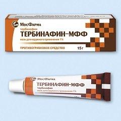 Мазь для наружного применения 1% Тербинафин-МФФ