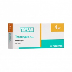Таблетки Тизанидин-Тева