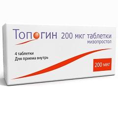 Таблетки Топогин