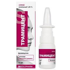 Спрей назальный дозированный Трамицент