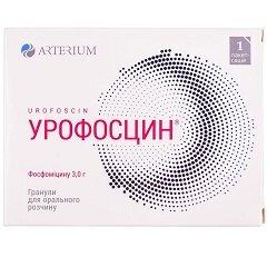 Гранулы для приготовления раствора для приема внутрь Урофосцин