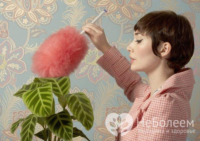 Аллергия на пыль может приводить к развитию аллергического альвеолита