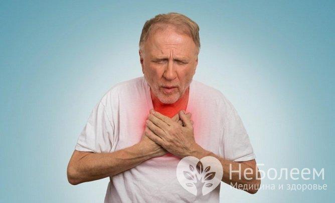 Одышка является первым симптомом альвеолита